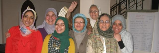 Engaging women in their role as creators of peace at every level of society